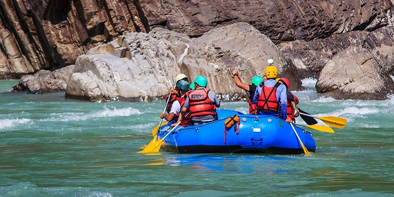 None better than the thrilling and exciting sport of river rafting