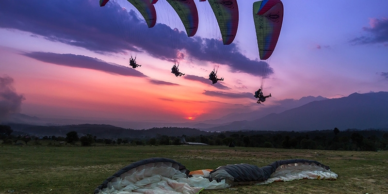 Paragliding, Everyone has dream of becoming a bird at least once